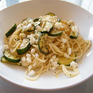 Espaguetti con ricota