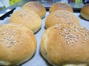 receta de pan de hamburguesa casero