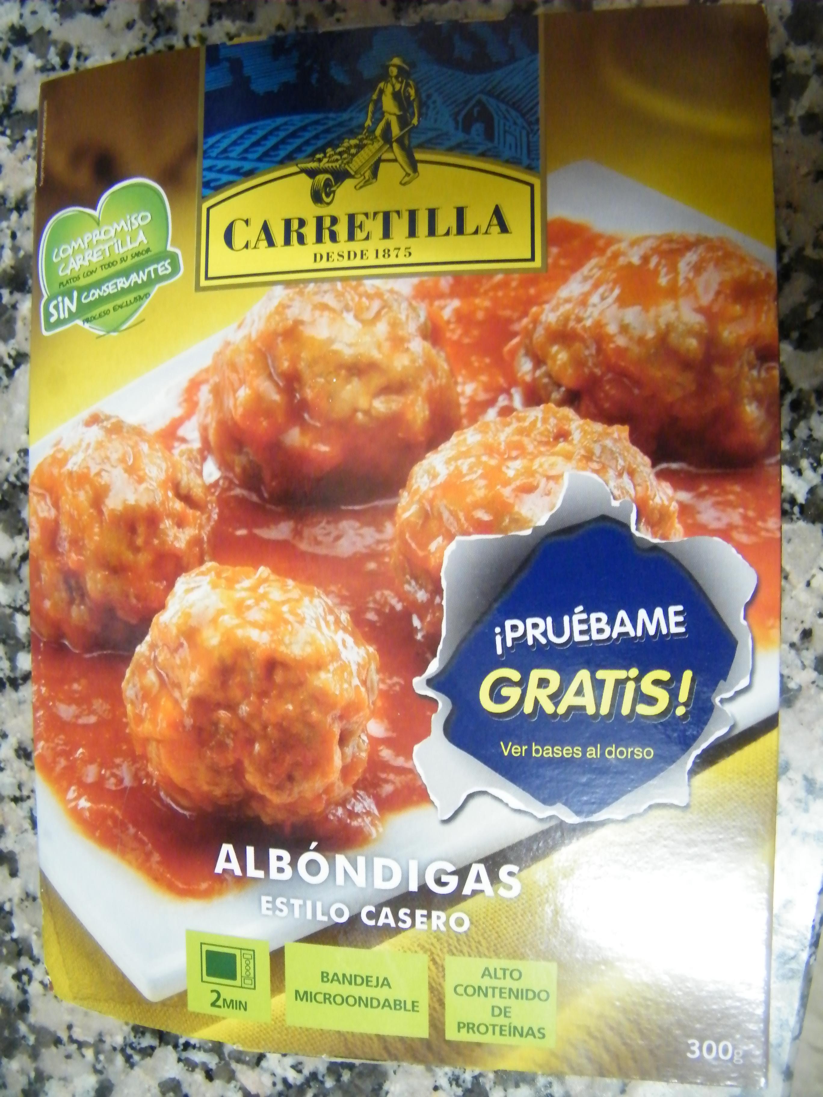 Platos de carne Carretilla
