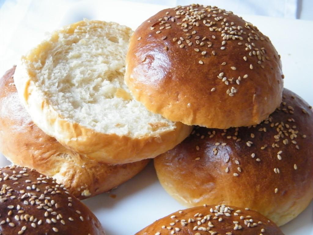 pan de hamburguesa tierno
