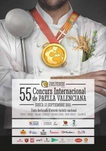 55ª edición del Concurso Internacional de Paella Valenciana en Sueca