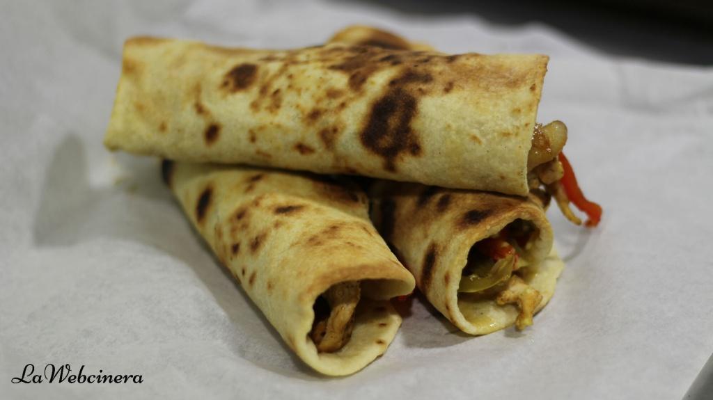tortillas de trigo para hacer fajitas