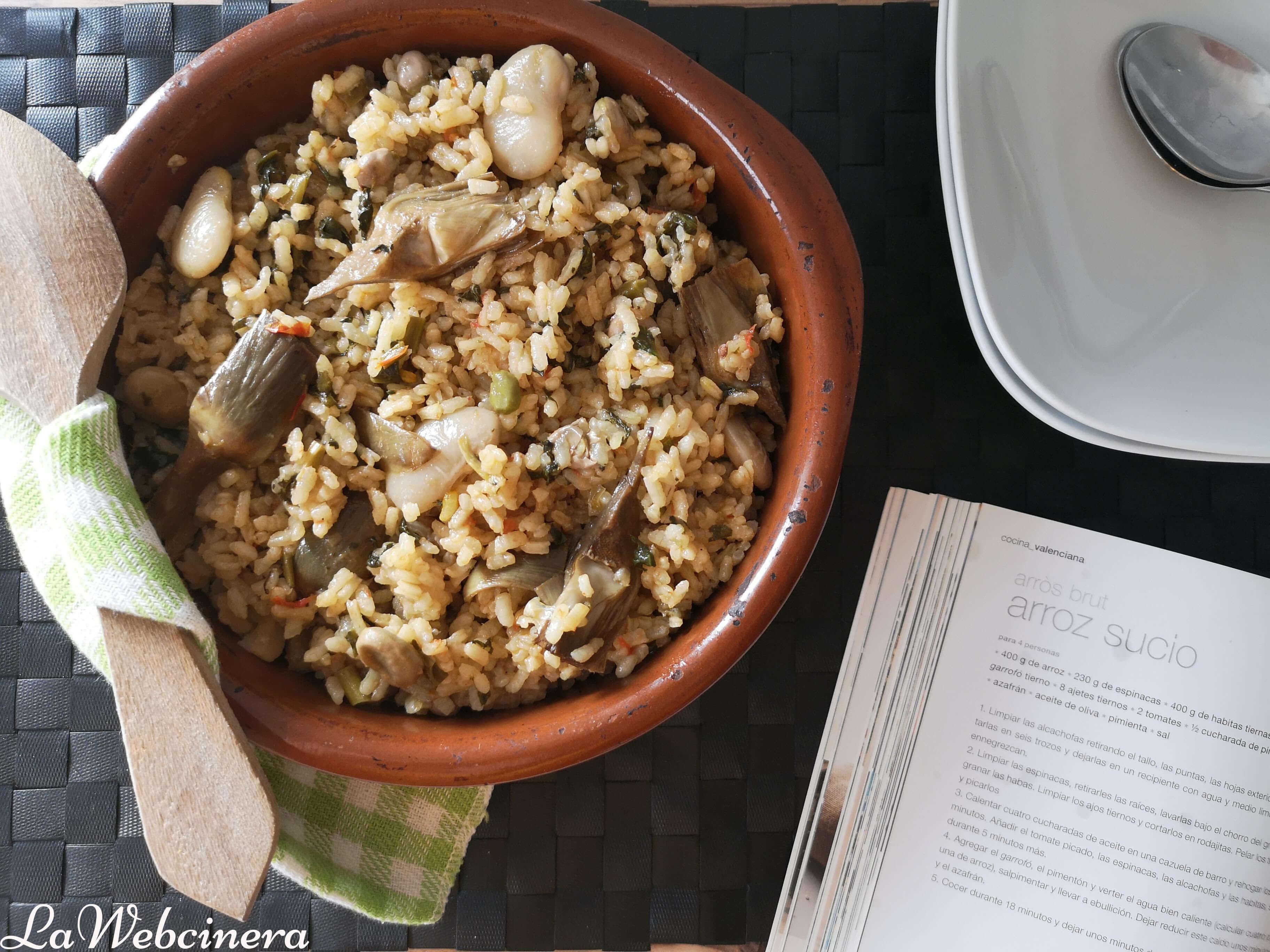 Cómo hacer arròs brut, receta típica de la Comunitat Valenciana