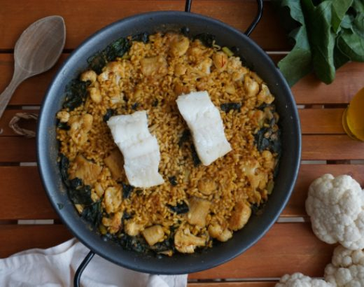 arroz con bacalao