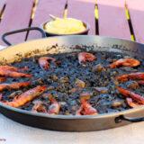 paella de arroz negro