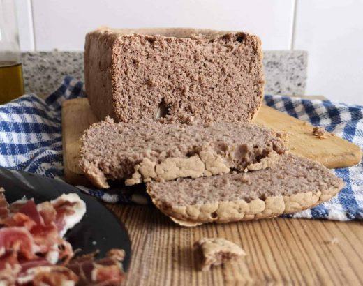 receta de pan con trigo sarraceno