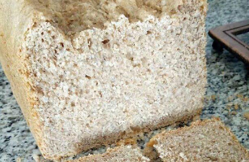 Receta de pan de espelta en panificadora