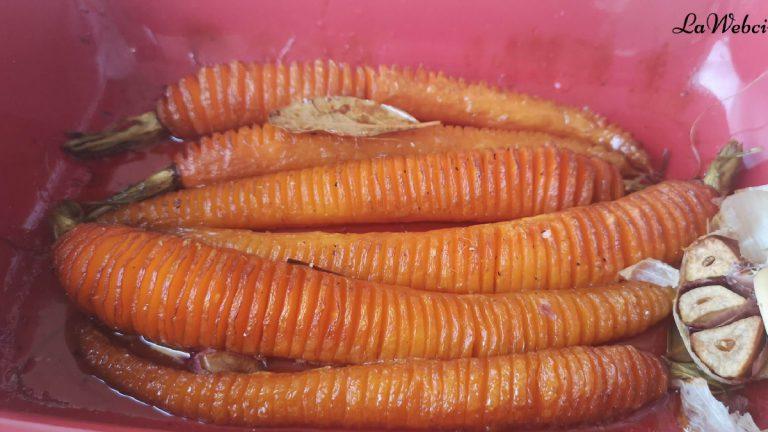 Receta de zanahorias glaseadas