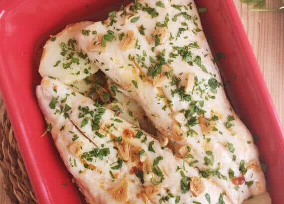 receta de merluza al horno fácil