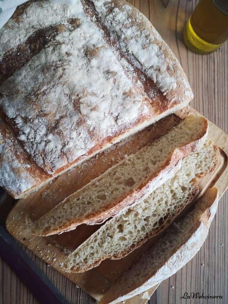receta de pan sin masa madre del Forn de Sant Francesc,