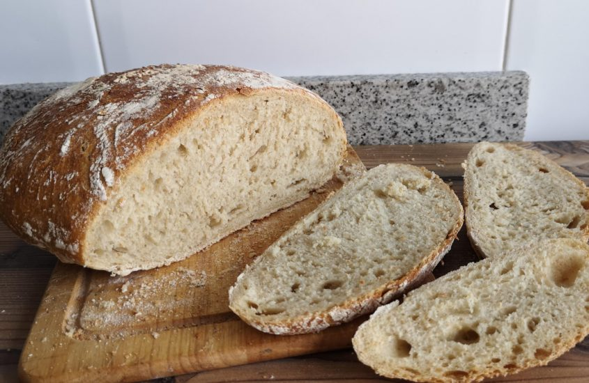 Receta de pan payés o pa de pagès