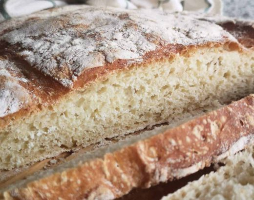 receta de pan sin masa madre