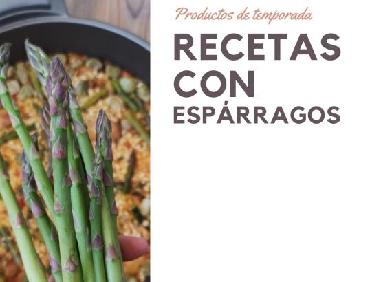 Recetas con espárragos verdes, platos e ideas fáciles