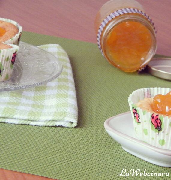 pasteles suizos con albaricoque