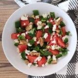 dos recetas de ensaladas con fruta