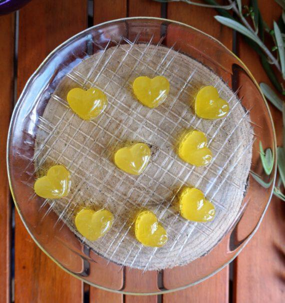 gominolas de aceite de oliva virgen