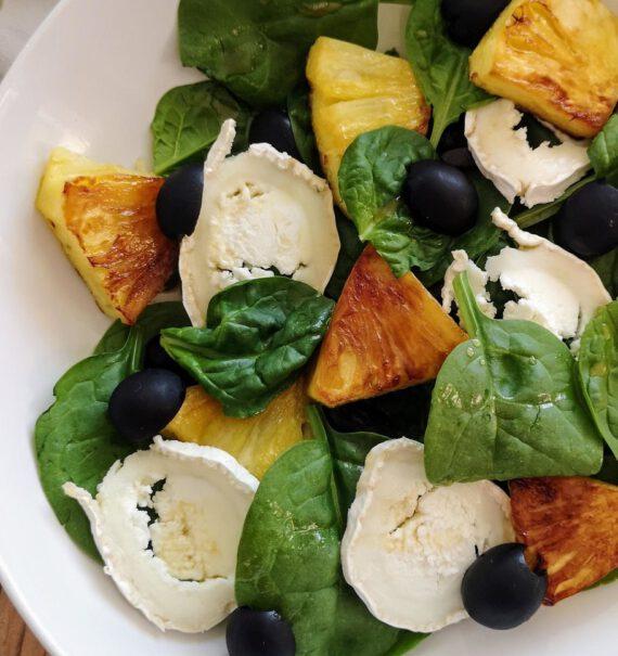 2 recetas de ensaladas con fruta