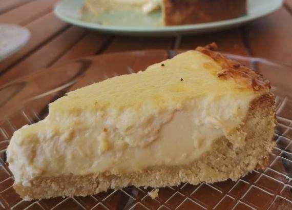 tarta de queso del restaurante Zuberoa