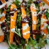 Ensalada de zanahorias asadas, receta de aprovechamiento