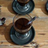 Postre de chocolate saludable, fácil y rápido