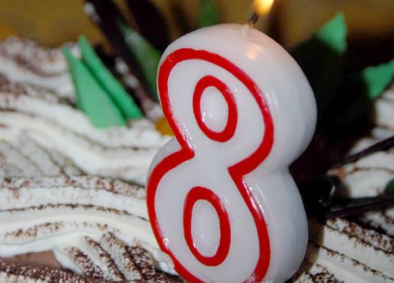 El Blog LaWebcinera cumple 8 años