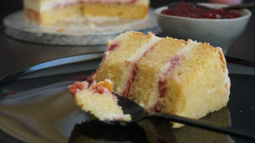 Receta de naked cake de limón