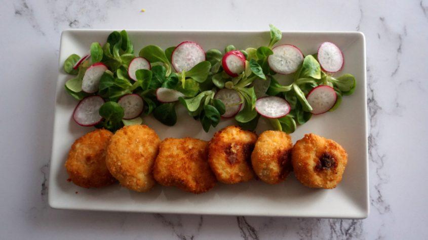 Nuggets de pollo caseros, sin gluten y al horno