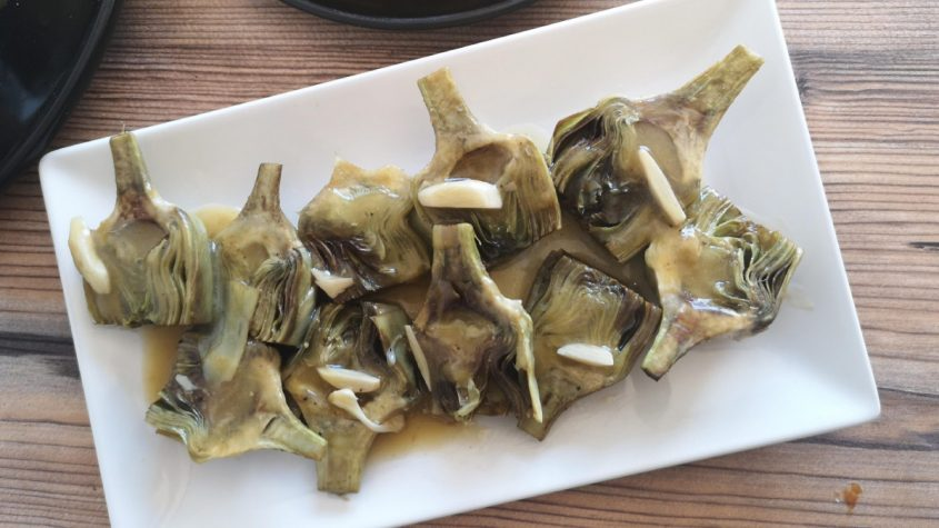 recetas con alcachofas