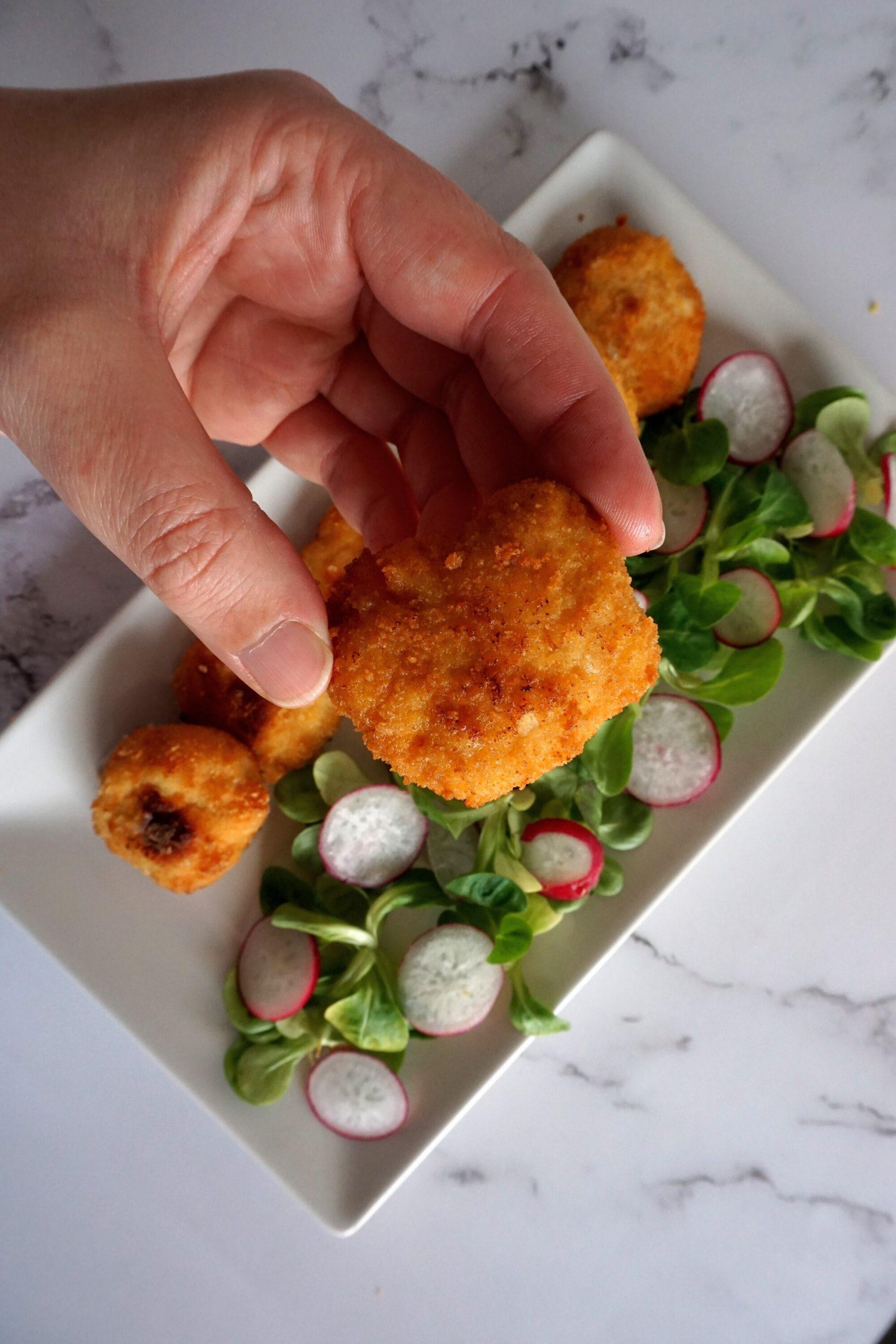 nuggets de pollo saludables