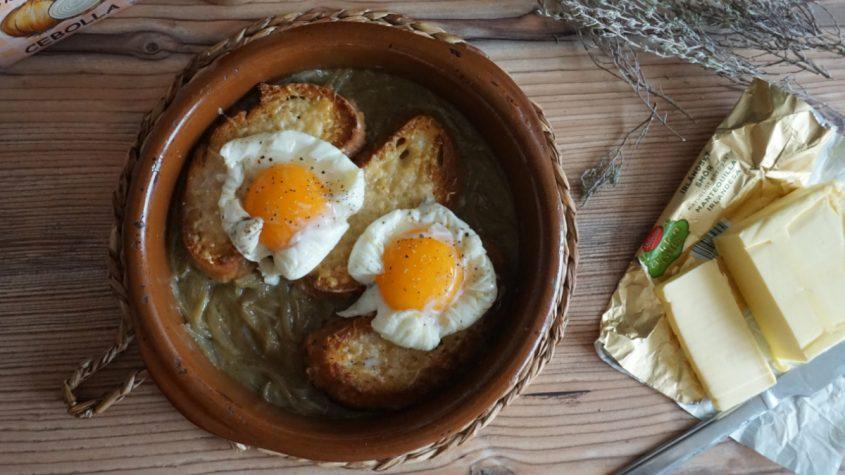 Cómo preparar sopa de cebolla francesa