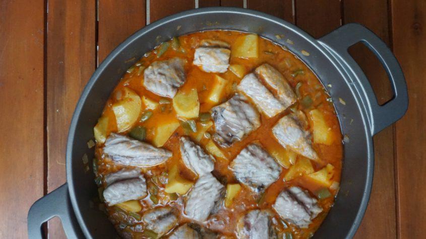 Cómo hacer marmitako de caballa