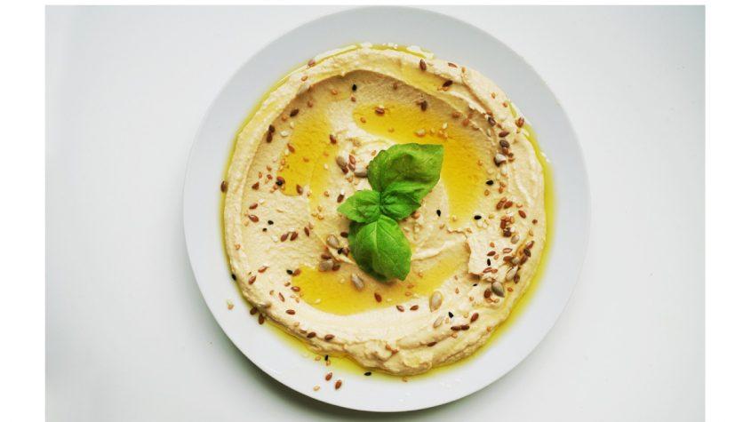 Hummus de tronco de brócoli, una receta de aprovechamiento