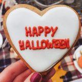 Galletas dulces con miel para Halloween